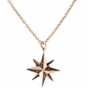 KWIAT ~STAR~ 18K Gold Necklace & Earrings Diamonds